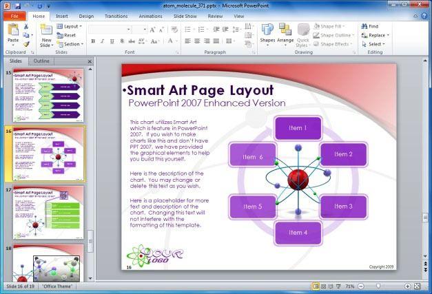 SmartArt Layout