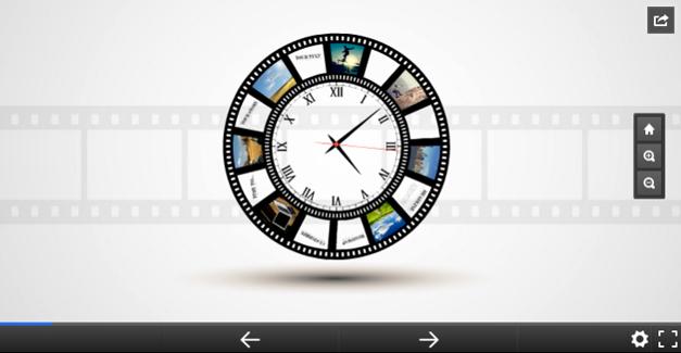 Story of time Prezi template