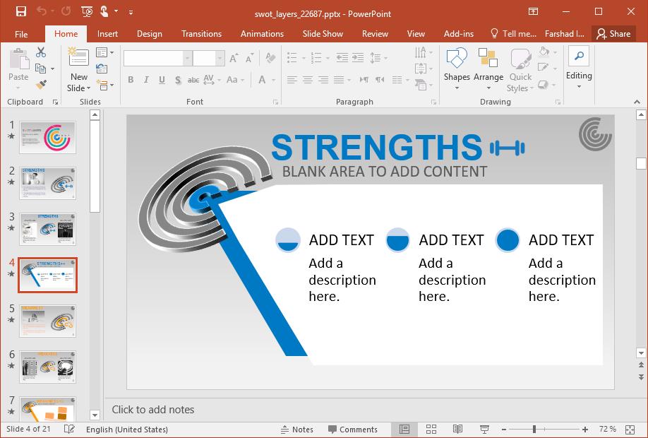 Strenghts SWOT Diagram
