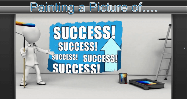 Success animation for PowerPoint