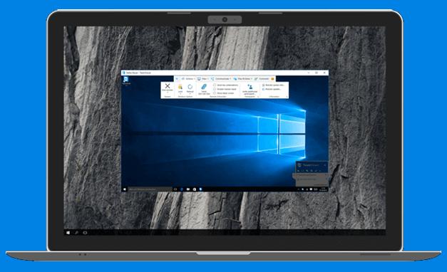 TeamViewer for remote meetings