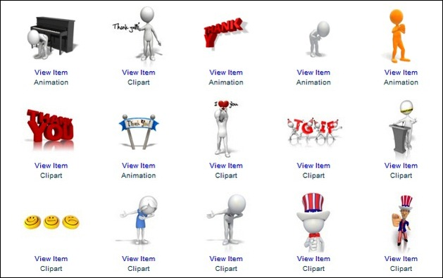 Thank You Clipart By Presenter Media