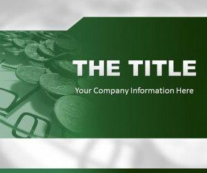 Green Finance PowerPoint Template