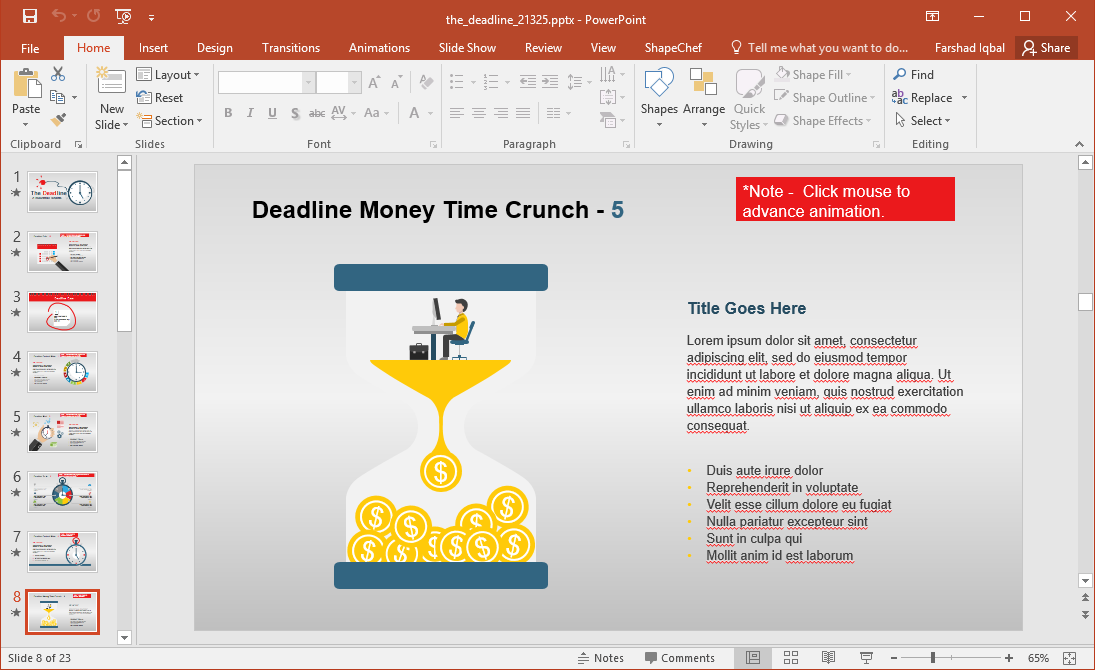 Time is Money Clipart