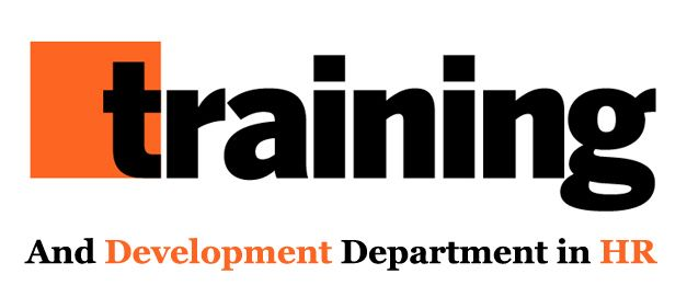 Training And Development Department in HR