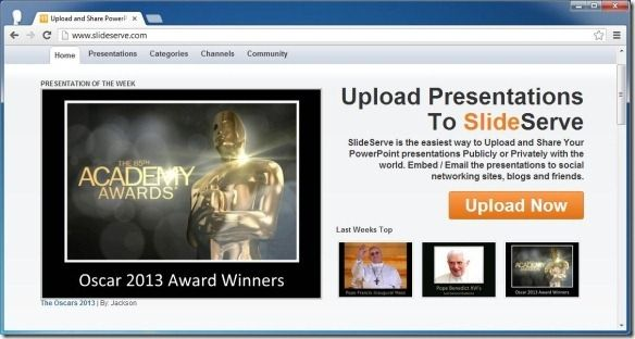 Upload and Share PowerPoint Presentations