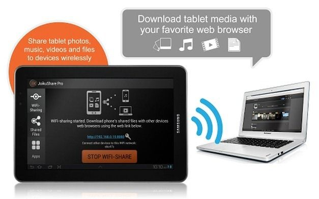 Wirelessly Manage Android Content Using Your Laptop