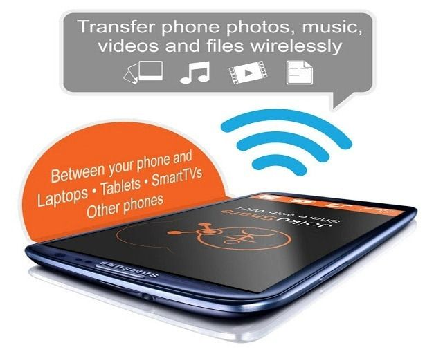 Wirelessly Transfer Files From Android