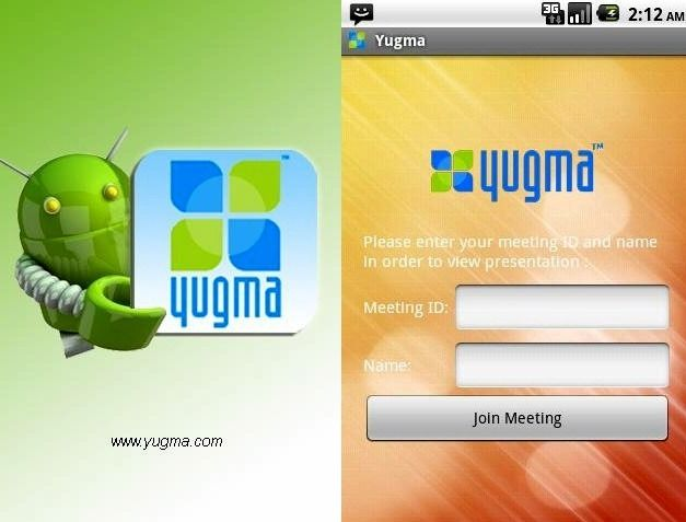 Yugma for Android