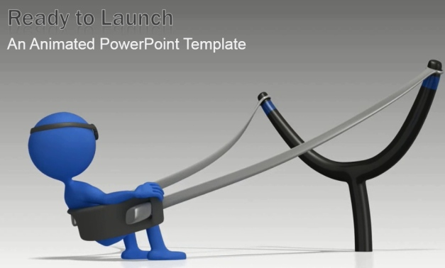animated ready to launch template for powerpoint