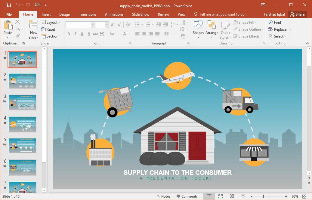 supply chain presentation