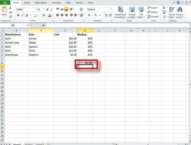 vlookup finance excel 2010