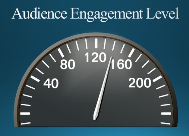 audience engagement level