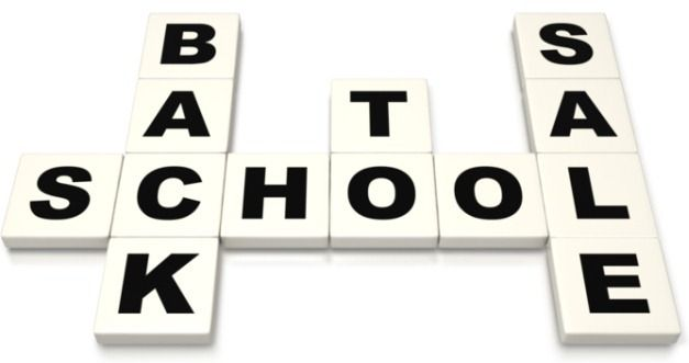 back to school sale clipart