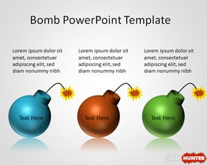 Bomb PowerPoint Template