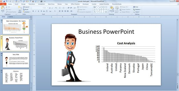 Business characters for PowerPoint