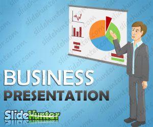 Business Presentation Cartoon