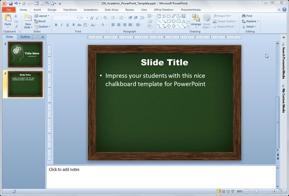 Effective Use of PowerPoint Presentations in Higher Education