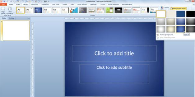 Simple Background powerpoint
