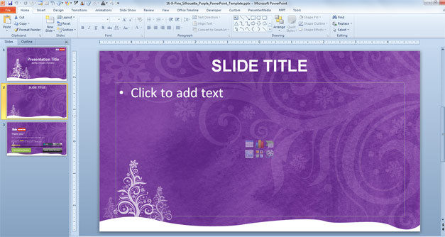 Free Christmas PPT Template
