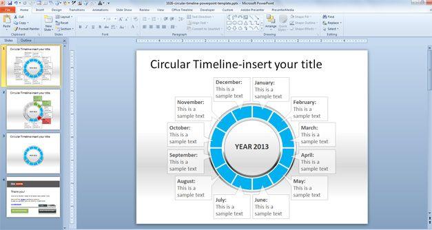 Circular Timeline