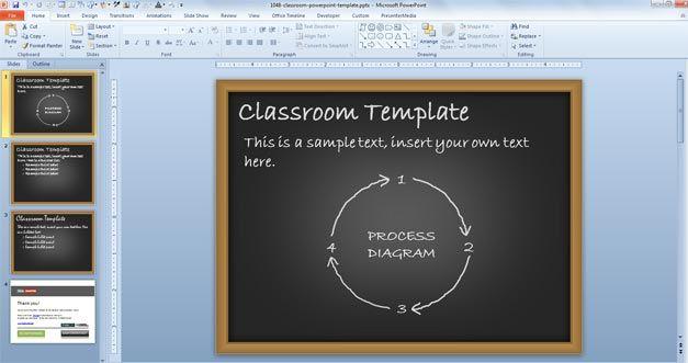 Classroom PowerPoint Template