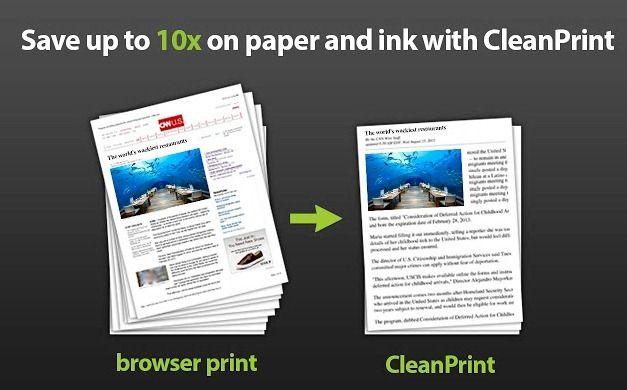 CleanPrint