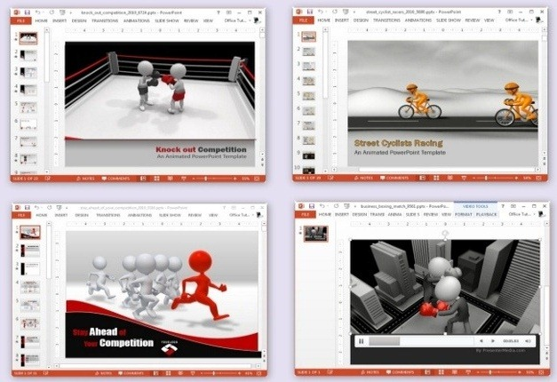 competition templates for powerpoint and keynote presentations
