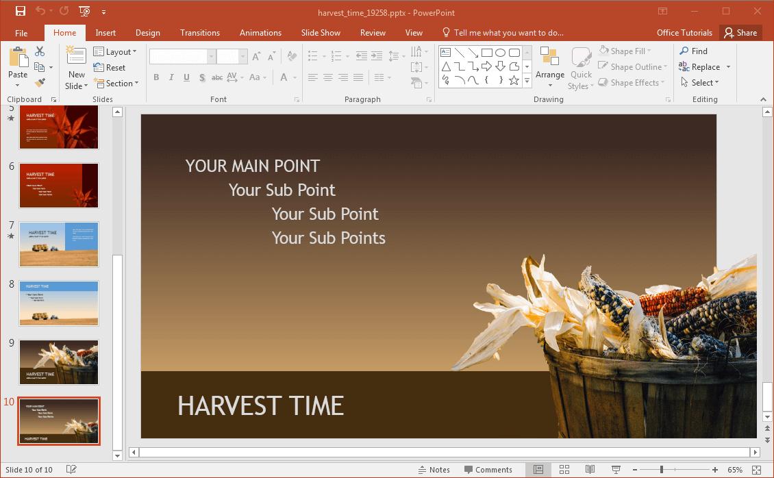 corn-powerpoint-background