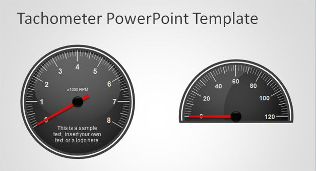 dashboard example tachometer