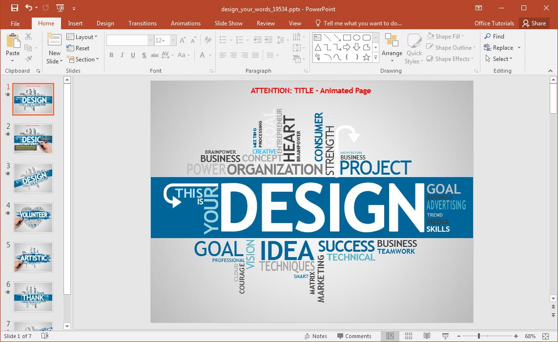 word-cloud-powerpoint-template