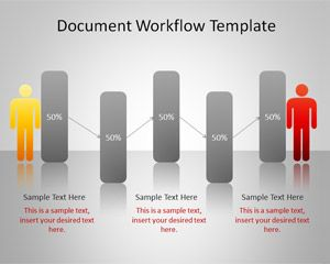 Document Workflow PowerPoint Template