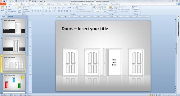 doors ppt template