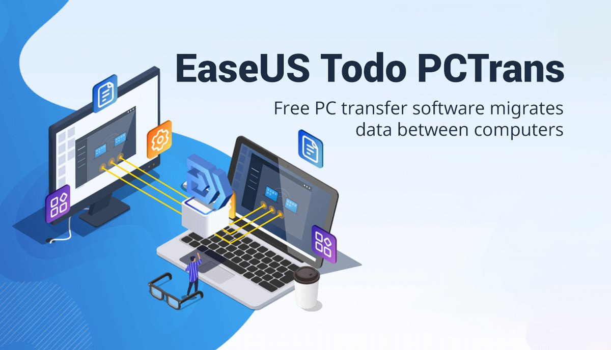 Transferring Files from one PC to another PC using EaseUS Todo PCTrans