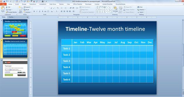 simple timeline