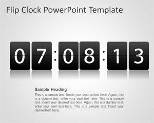 Flip Clock PowerPoint Template