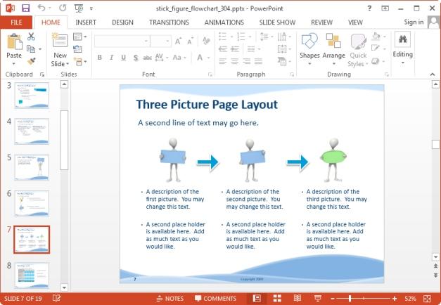 flow chart explanation slide