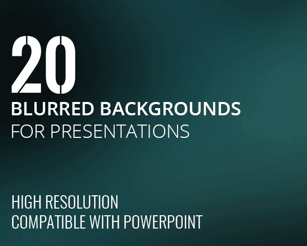 Blurred PowerPoint Backgrounds