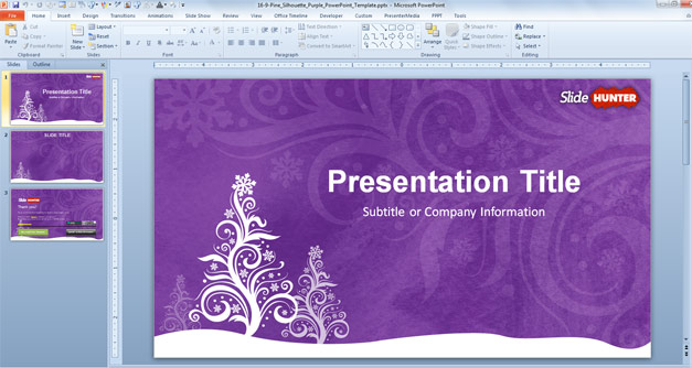 Christmas 2013 PowerPoint Picture