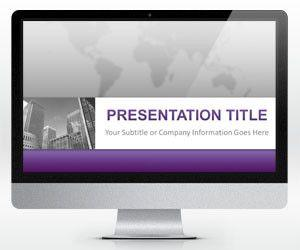 Widescreen Corporate Business PowerPoint Template (16:9)