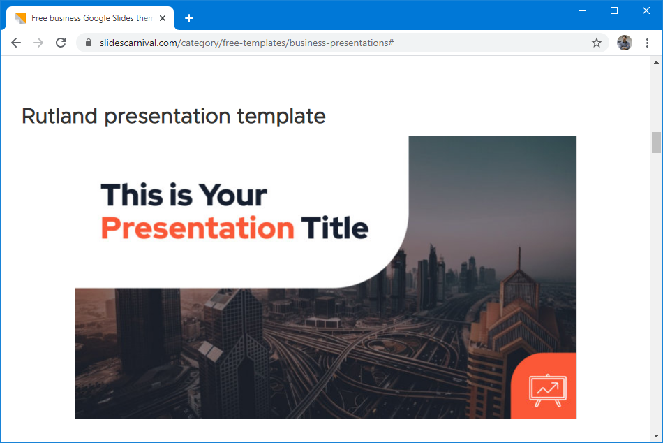 Free Google Slides and templates
