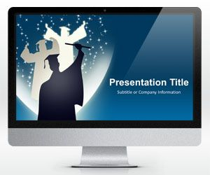 Widescreen Education PowerPoint Template