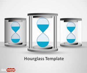Hourglass Shape for PowerPoint