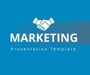 Free Marketing PowerPoint template