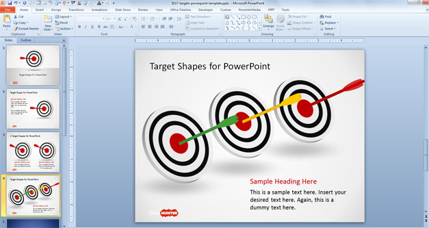 Target Shapes for PowerPoint