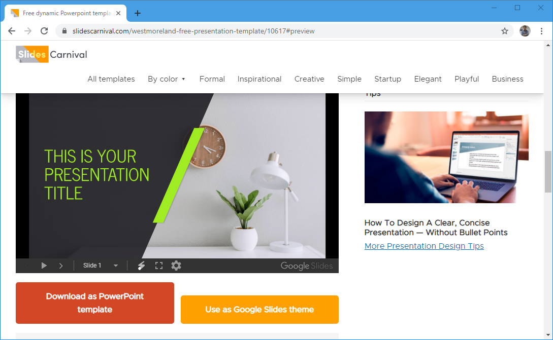 Free templates for Google Slides and PowerPoint
