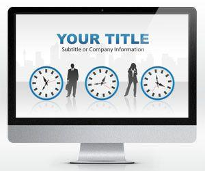 Time Management PowerPoint Template (16:9)