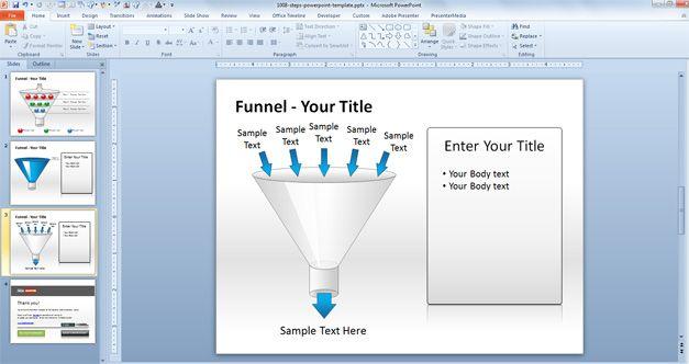 funnel diagram data flow