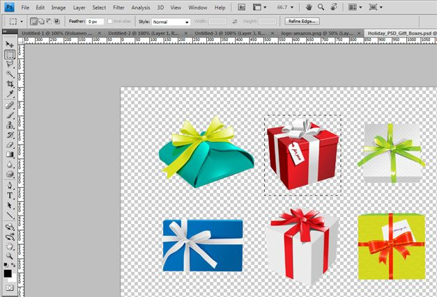 gift box holiday powerpoint