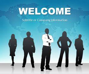 Global Leadership PowerPoint Template